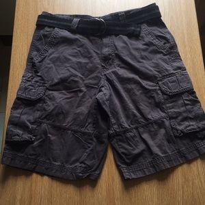 Airwalk gray cargo shorts
